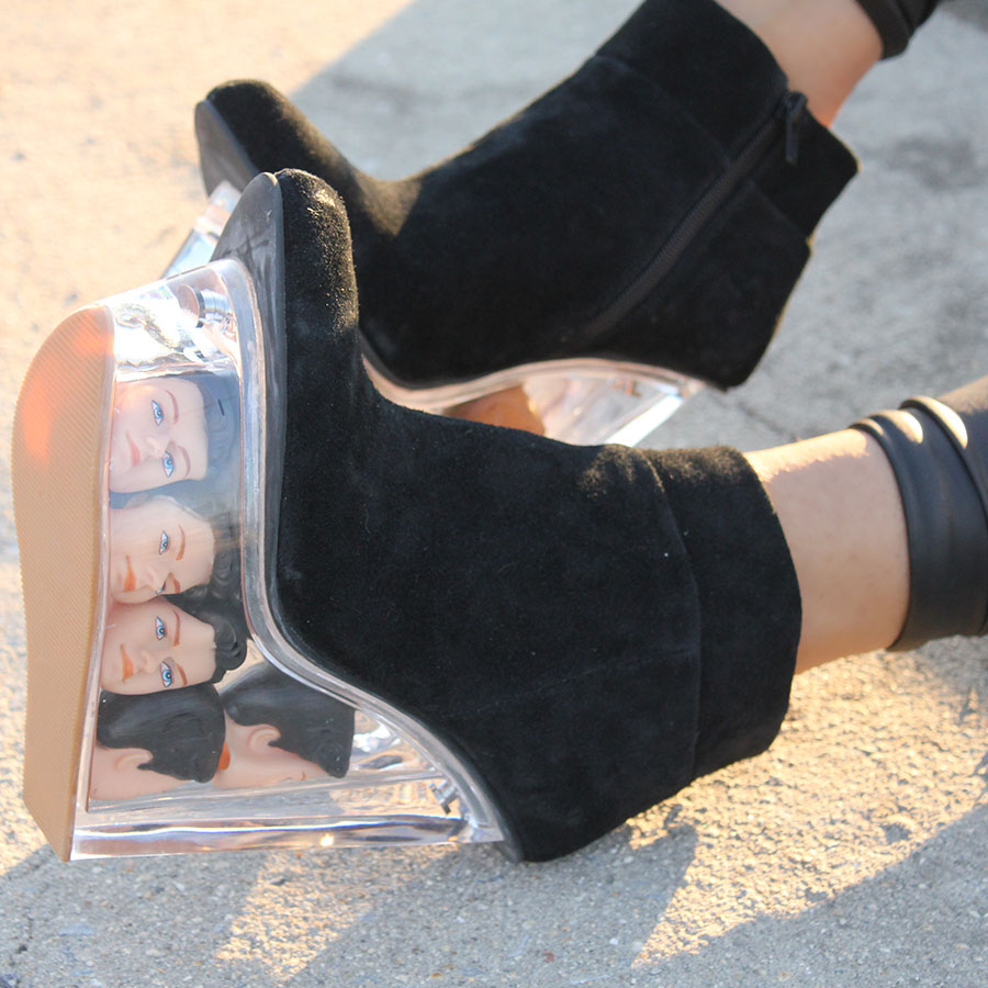 Jeffrey Campbell Icy Dollhead