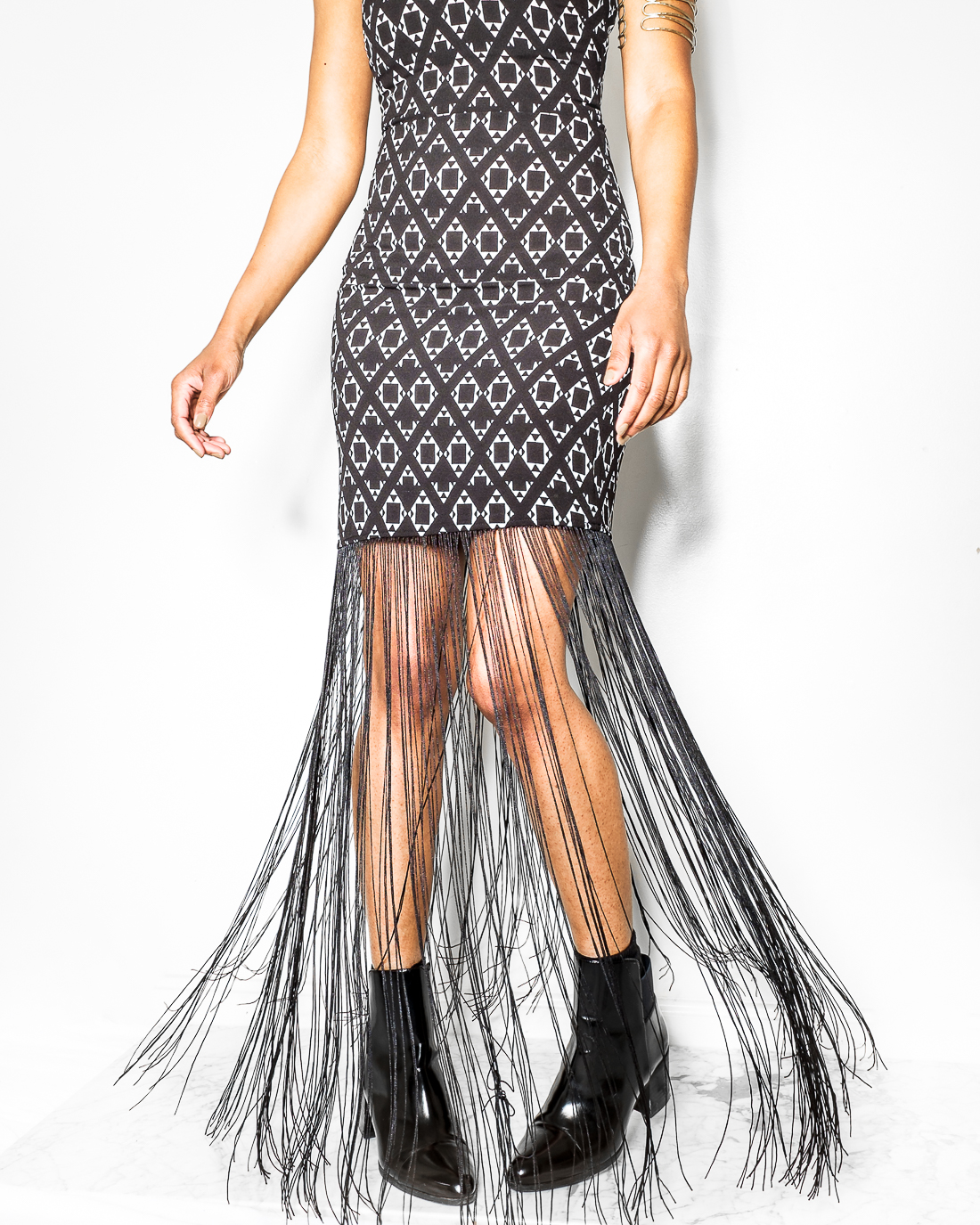 Fringed Dress