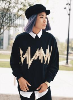 Balmain Army Oversized Sweatshirt