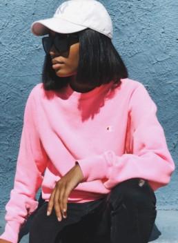 Champion & UO Pigment Dye Pullover Sweatshirt